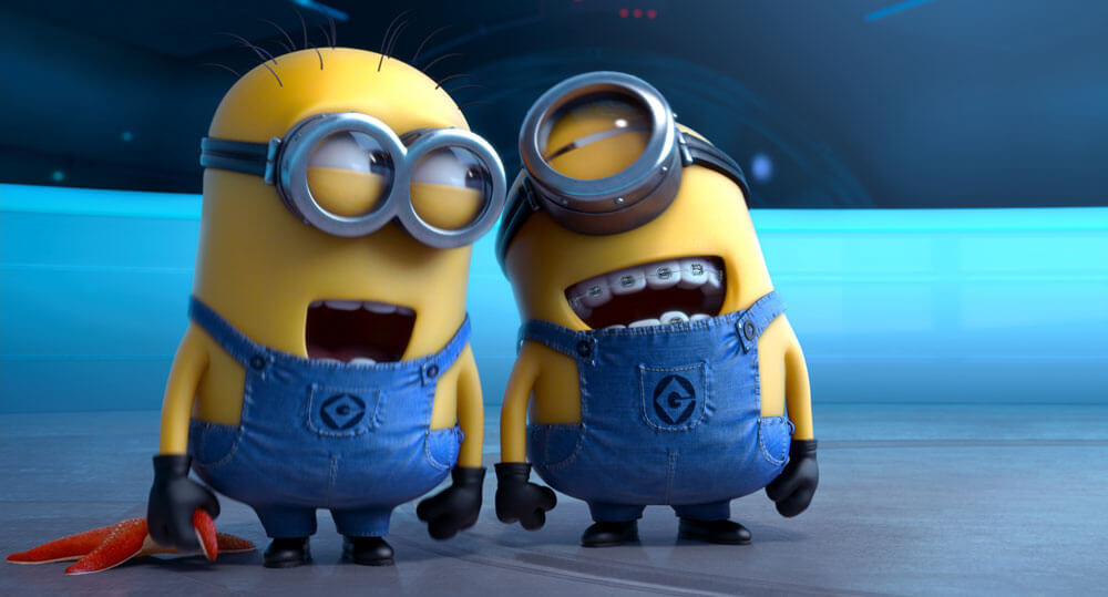 Minions with braces