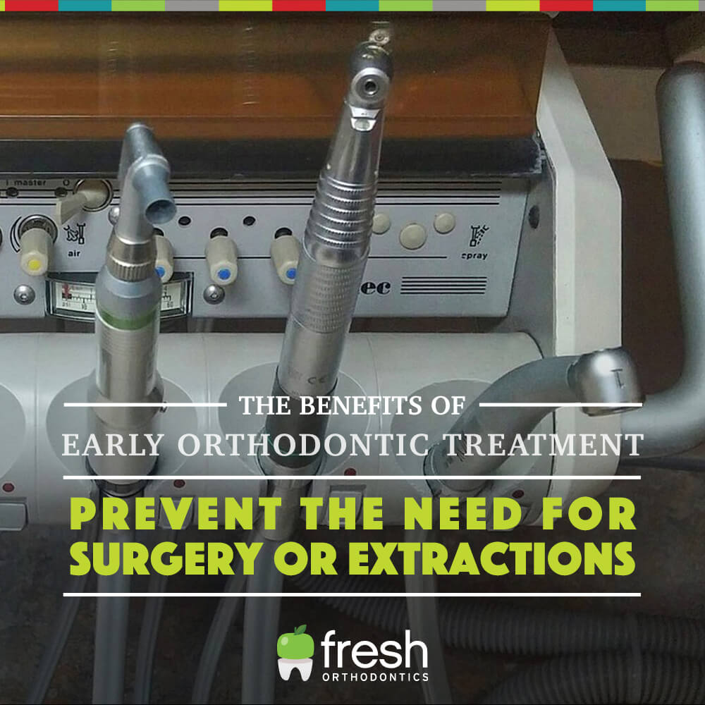 The Benefits of Early Orthodontic Treatment
