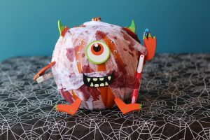 Here is another Pumpkin Picasso Contest entry! Vote for your favorite pumpkin by liking the post! Meet a little monster, created by iSmile Dental
